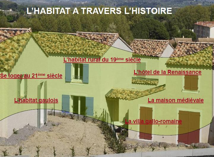 بحث exposé l'habitat a travers l'histoire SNAG-14041119460900