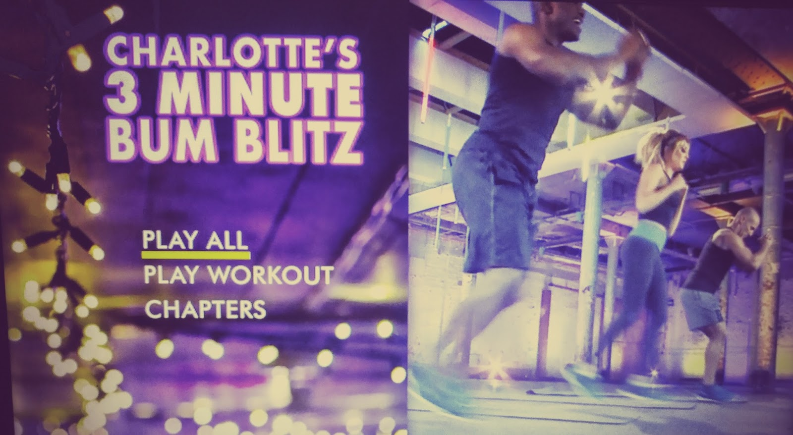 charlottes fitness dvd