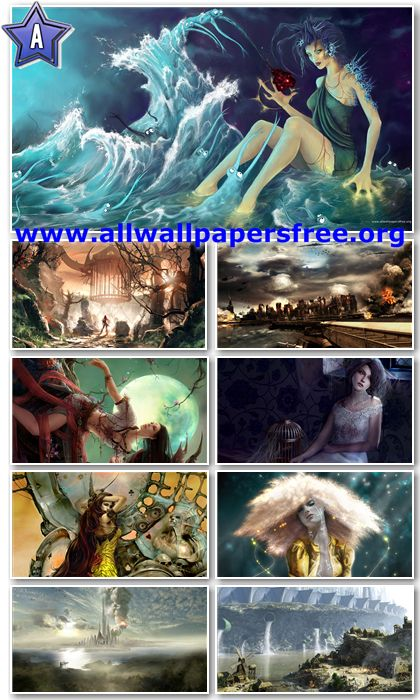 30 Stunning Digital Art Full HD Wallpapers 1920 X 1080 [Set 1]