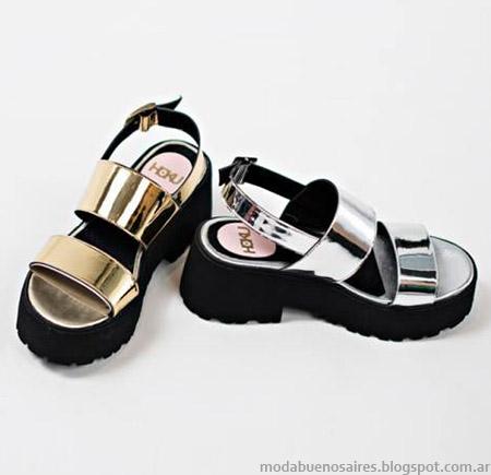 Sandalias primavera verano 2015 Hoku Shoes.