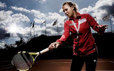 Caroline Wozniacki Tennis Wallpaper
