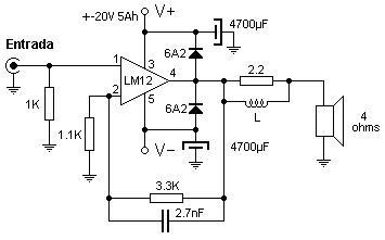 amplificador casero
