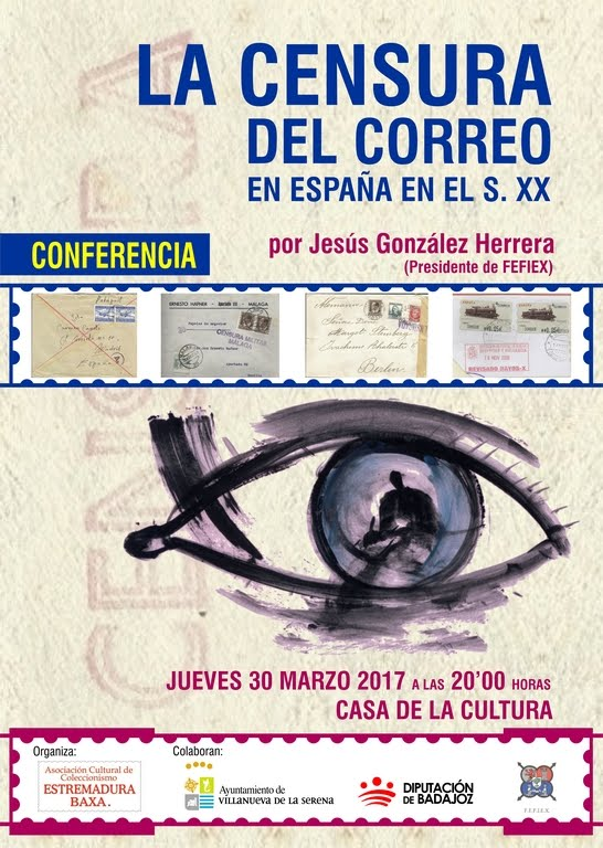 Conferencia: La Censura del Correo