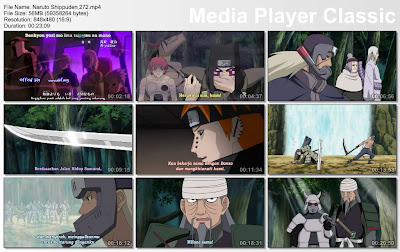 "DOWNLOAD FILM / ANIME NARUTO EPISODE 272 ""MIFUNE VS HANZO"" BAHASA INDONESIA"