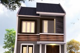 Jasa Desain Tampak Muka Rumah Menambah Dua Lantai Hemat Energi Konsep Minimalis