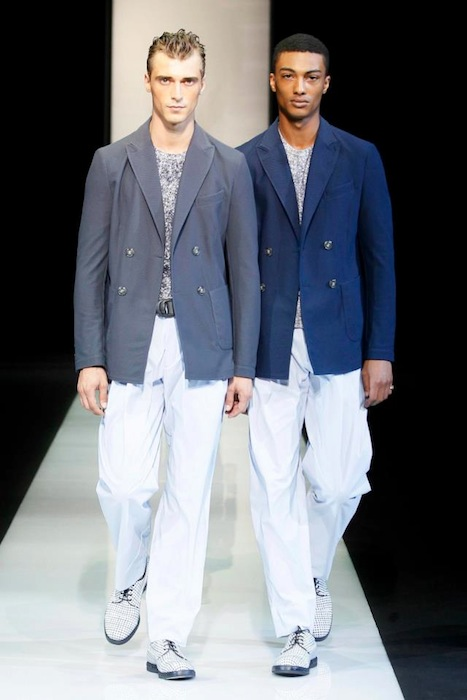 Giorgio Armani S/S 2013 Men's Fashion Photo-3