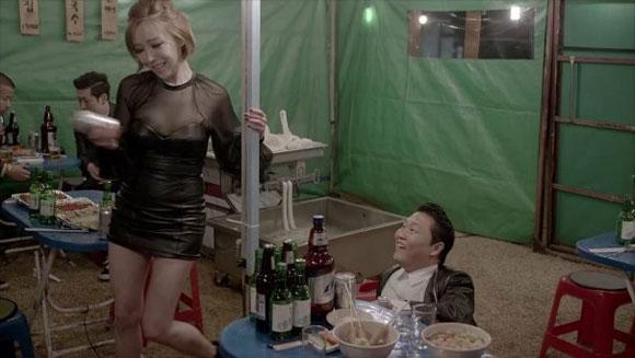 2 cô gái của Psy – Tại sao lại là HyunA và GaIn?