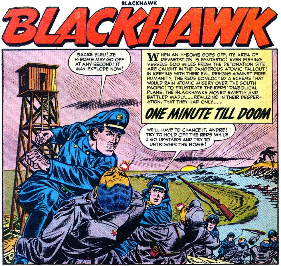 Blackhawk 107 One Minute Till Doom--Quality's final Blackhawk story