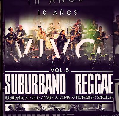 SUBUR BAND - Vol. 5 - Suburband Reggae Vivo