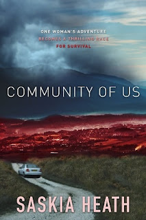 community of us, saskia heath, australian dystopia novel, apocalyptic novel, strong female lead