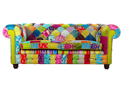 Divano Chesterfield inglese Patchwork 3 COLLINS & COOPER
