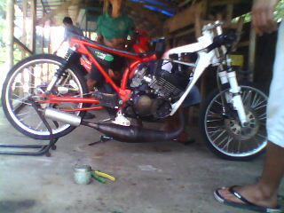 Modif Motor Rx King Drag