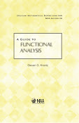 A Guide to Functional Analysis
