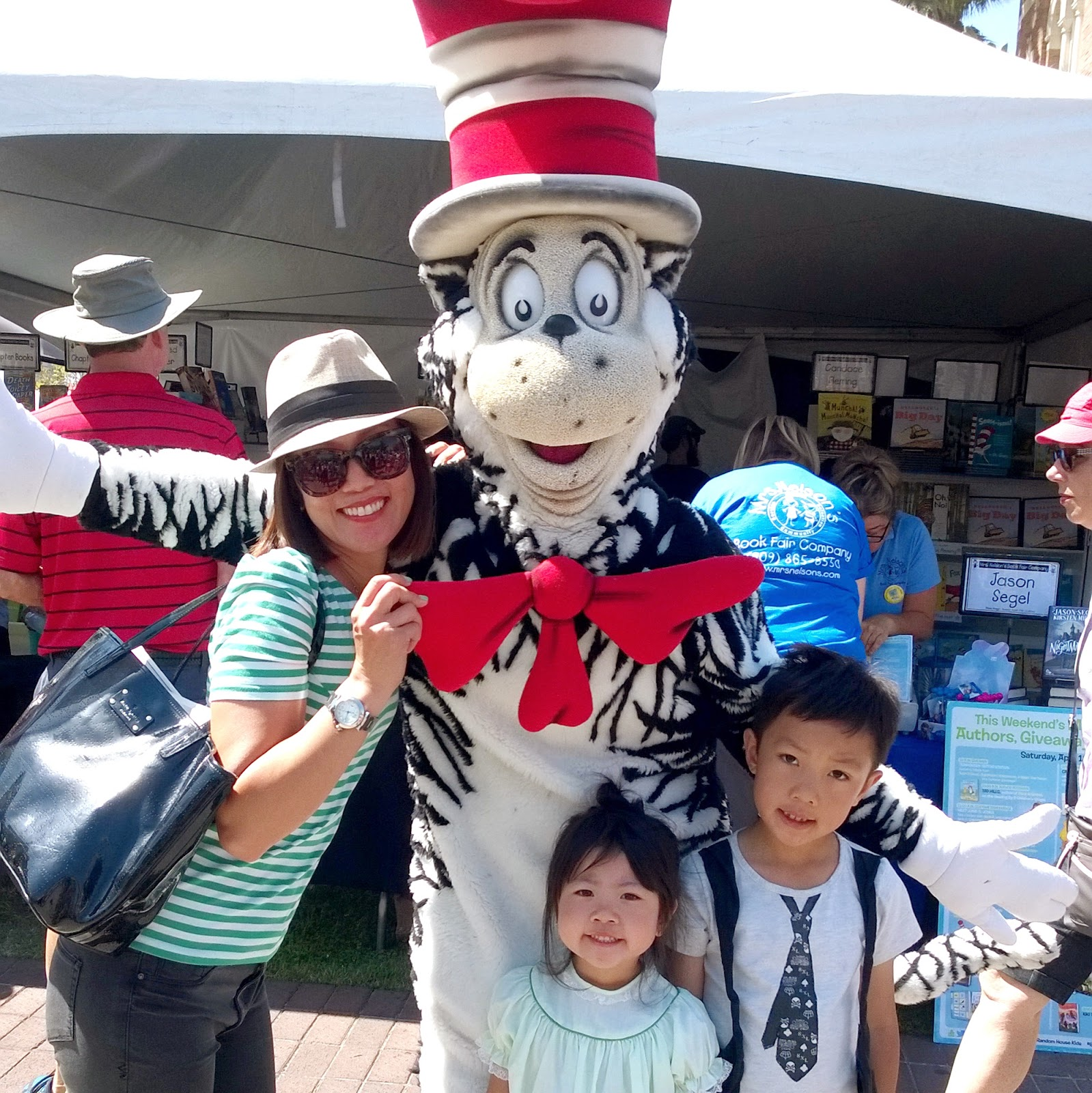 Cat in the Hat at the Festival of Books