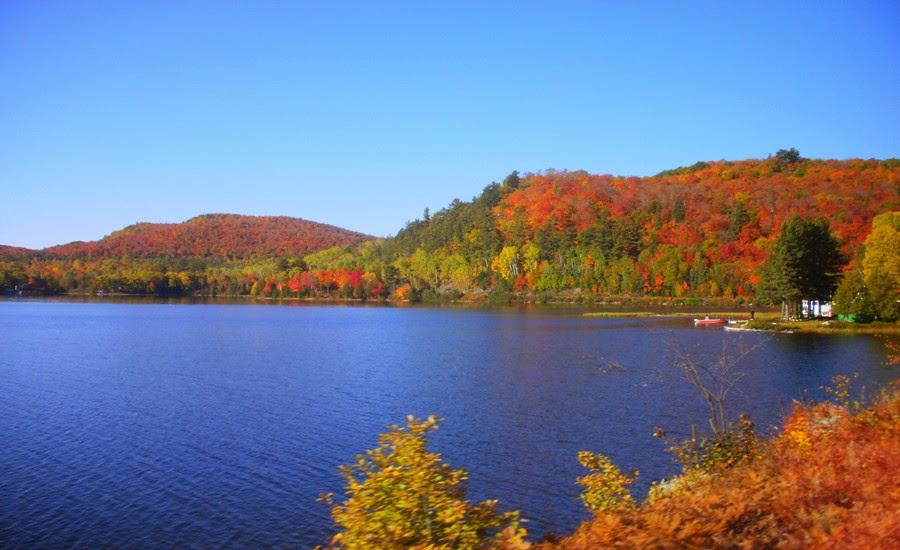 加拿大安大略省的秋光 Ontario Canada