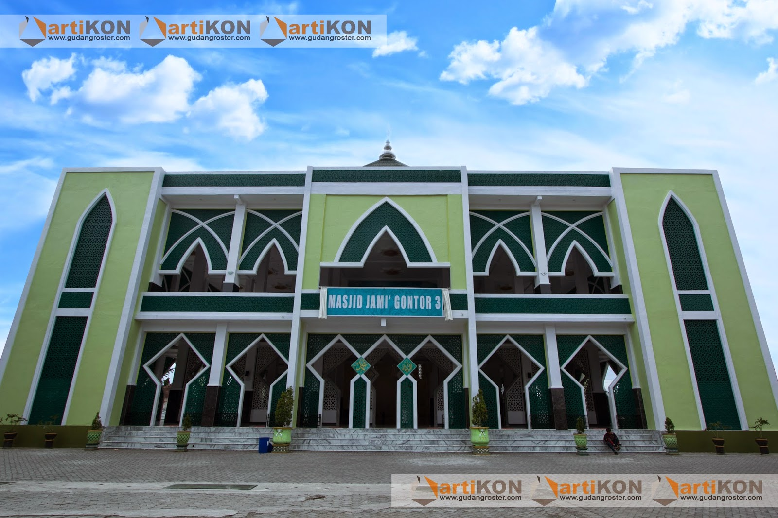 Grc Artikon Kerja Sama Pembangunan Masjid Jami Gontor 3 Desa