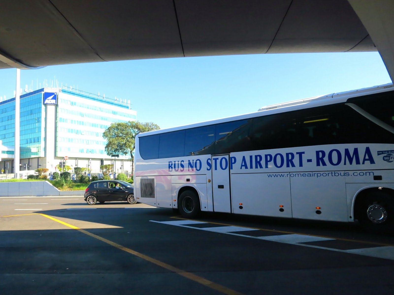 Airport Buses at Fiumicino Airport