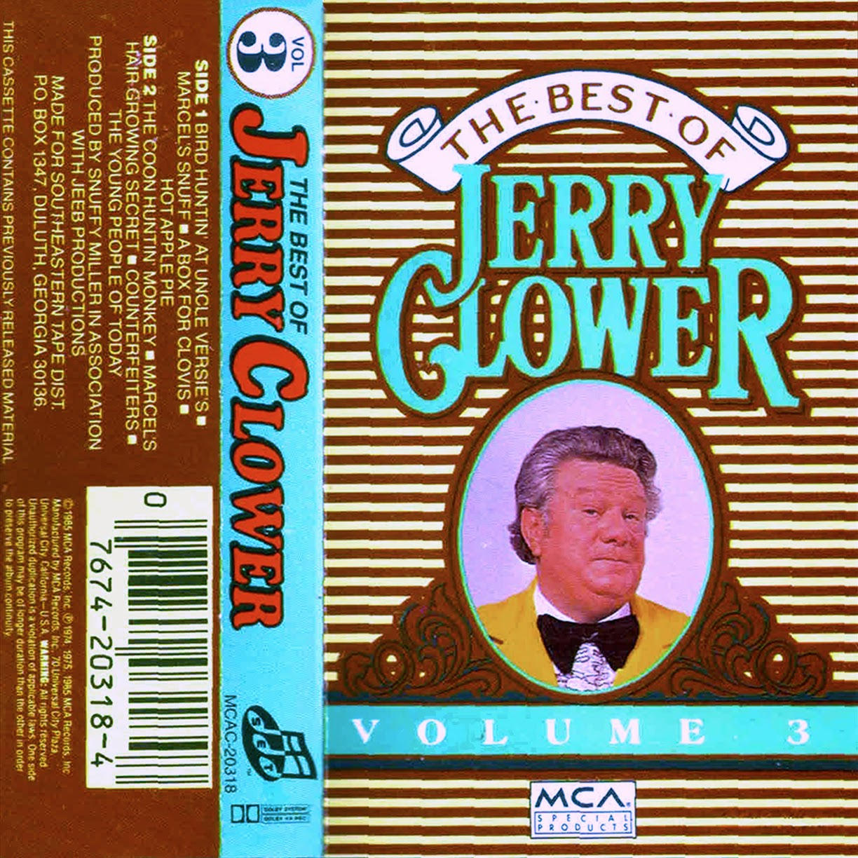 Vintage stand up comedy jerry clower live from the stage of the best of jerry clower volume 2 arubaitofo Image collections
