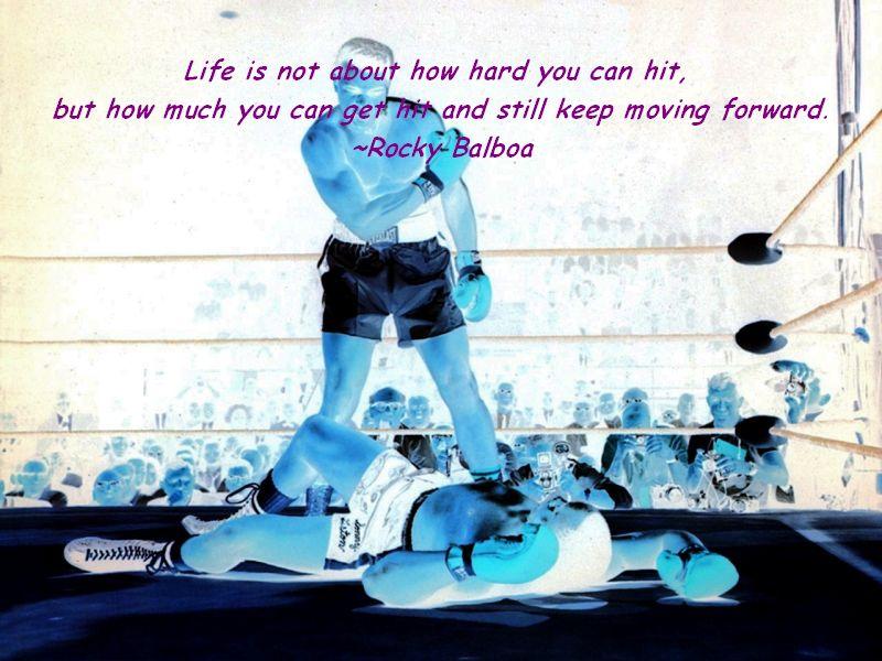 hard not life: