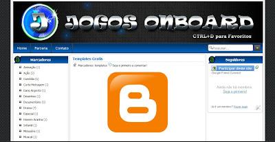 Template Jogos Onboard para Blogger
