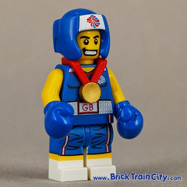 The Lego King: Lego Minifigures Team GB only sold in United ...