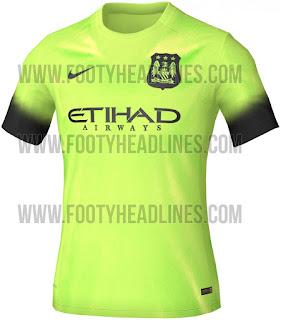 gambar detail musim depan Jersey Ketiga manchester City 2015/2016