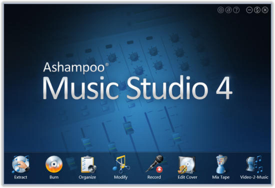 music studio download by ashampoo