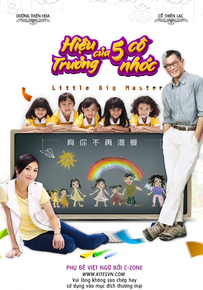 Hiệu trưởng của 5 cô nhóc - Little Big Master
