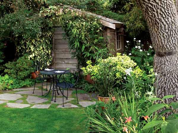 Estilo rustico mas sobre jardines rusticos for Jardines de casas rusticas