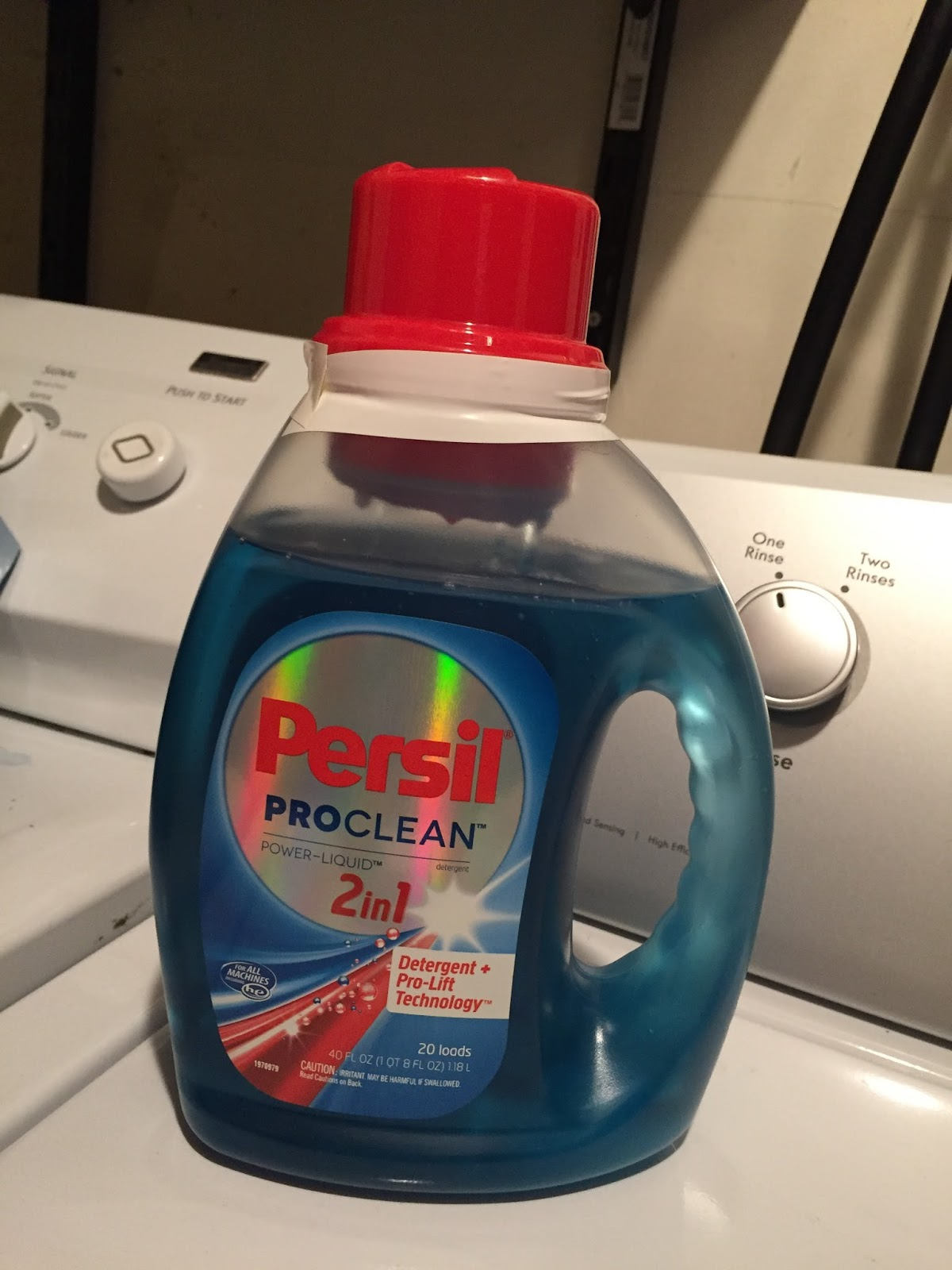 Maria S Space Persil Liquid Laundry Detergent Makes My Whole House Smell Amazing