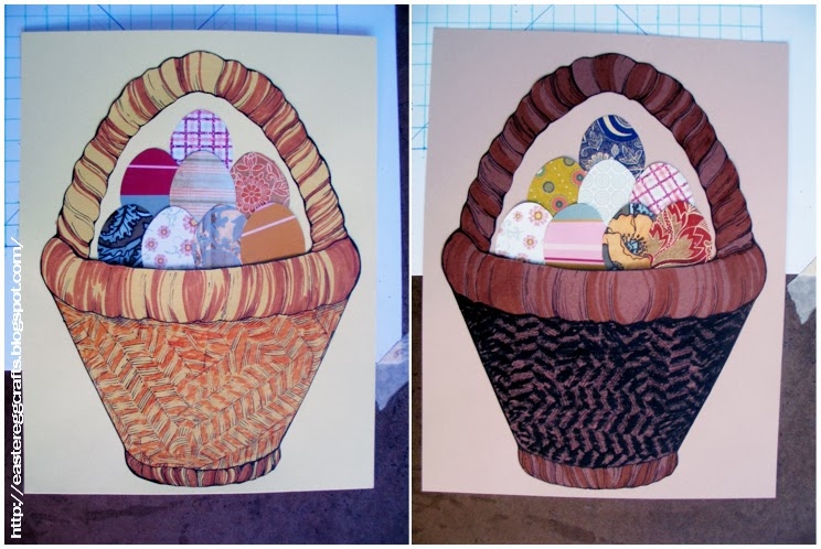 Basket Weaving Ri : Craft basket weave rubbings for easter egg pictures