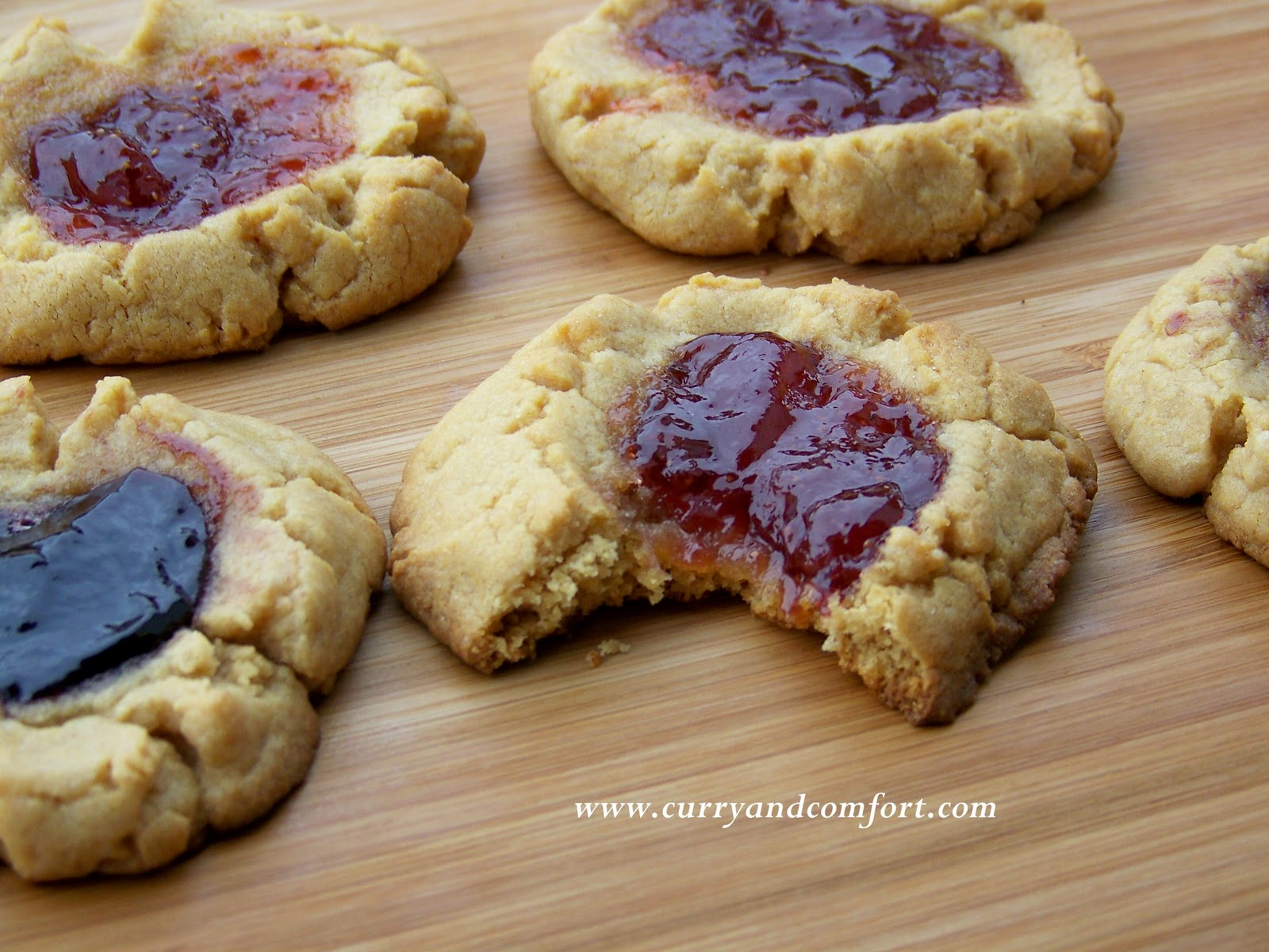 Kitchen Simmer: Peanut Butter and Jelly Cookies