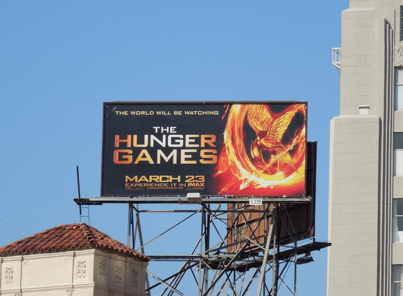 The Hunger Games billboard