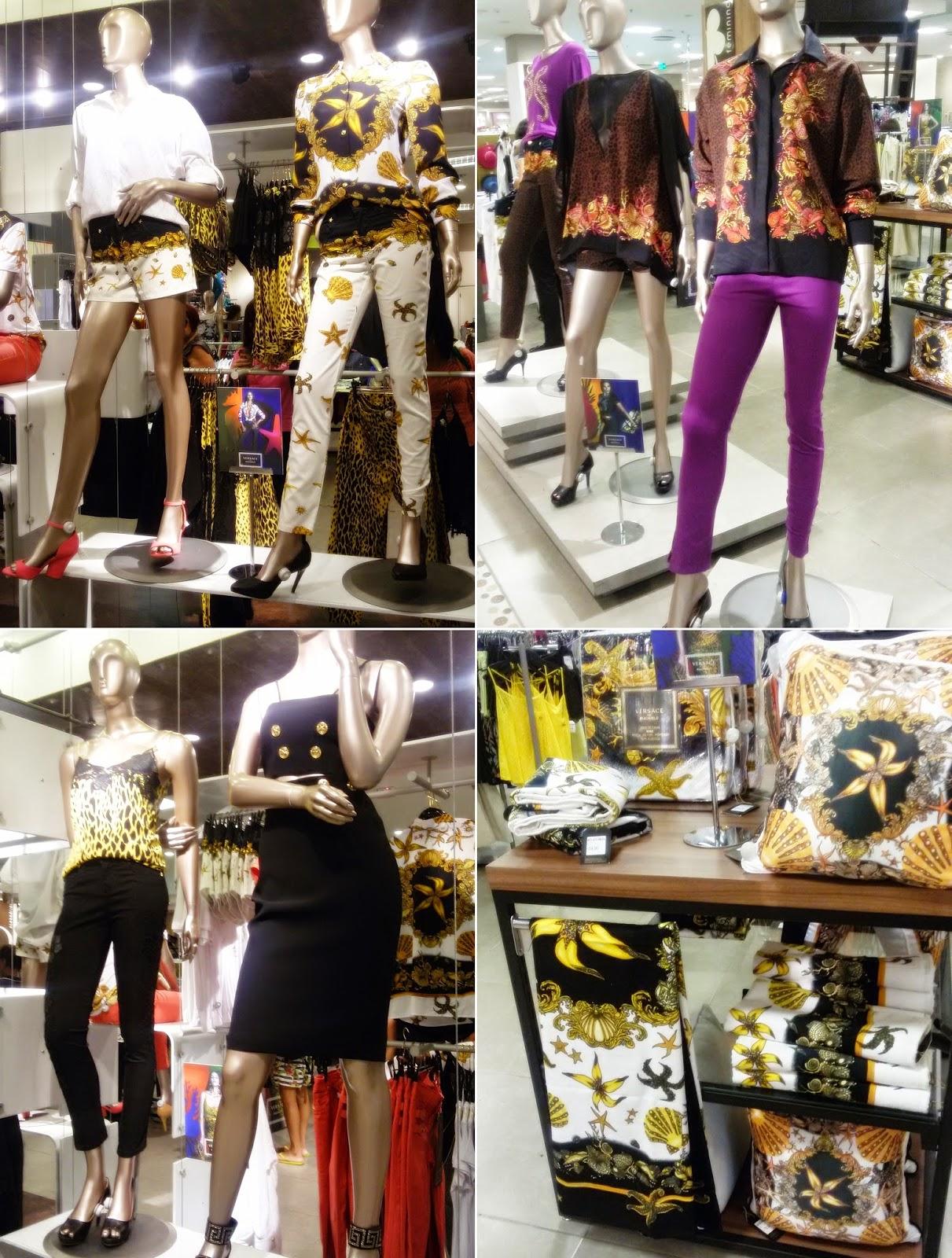 Vocês já devem estar cansadas de ouvir falar sobre a nova parceria da Riachuelo com a marca super conceituada no mundo da moda a Versace ( Só para quem pode). Fui conferir a coleção a convite da Riachuelo  do Shopping Barra- Salvador Ba e tirei algumas fotos dos looks que mais gostei.