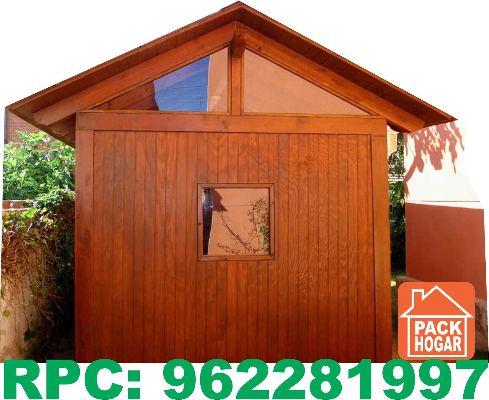 Casetas cuartos habitables prefabricadas de madera lima for Casetas aluminio para terrazas