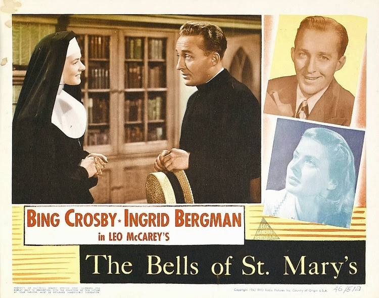 A Vintage Nerd, Vintage Blog, Vintage Christmas, Classic Christmas Films, Old Hollywood Blog, Classic Film Blog, The Bell's of St. Mary