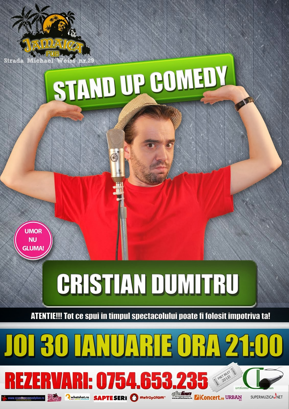 Stand Up Comedy Romania Brasov