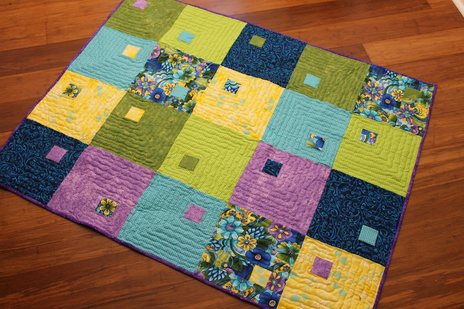 Quilting Patterns With Fat Quarters : Fat Quarters Quilts - Girls Wild Party