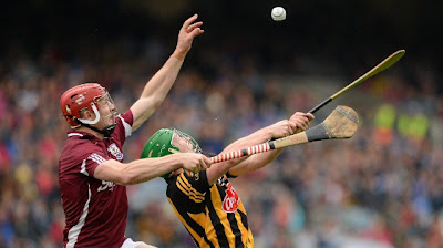 All-Ireland Kilkenny v Galway - watching from afar