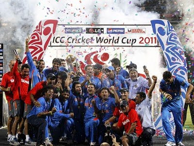 world cup cricket 2011 winner team. The World Cup 2011.
