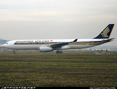 Singapore Airline Picture on Singapore Airlines To Induct Airbus A330 300   Bangalore Aviation