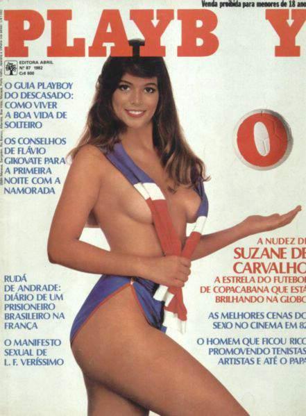 Suzane Carvalho Playboy 1982