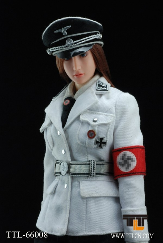 7hobby ttl66008 ttl 16 female ss agent in white uniform