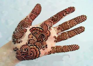 Arabic Henna Designs For Durga Puja