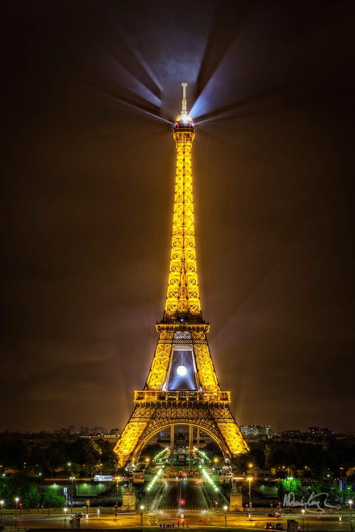 Alistair Cunningham, fotografía HDR, Torre Eiffel, París