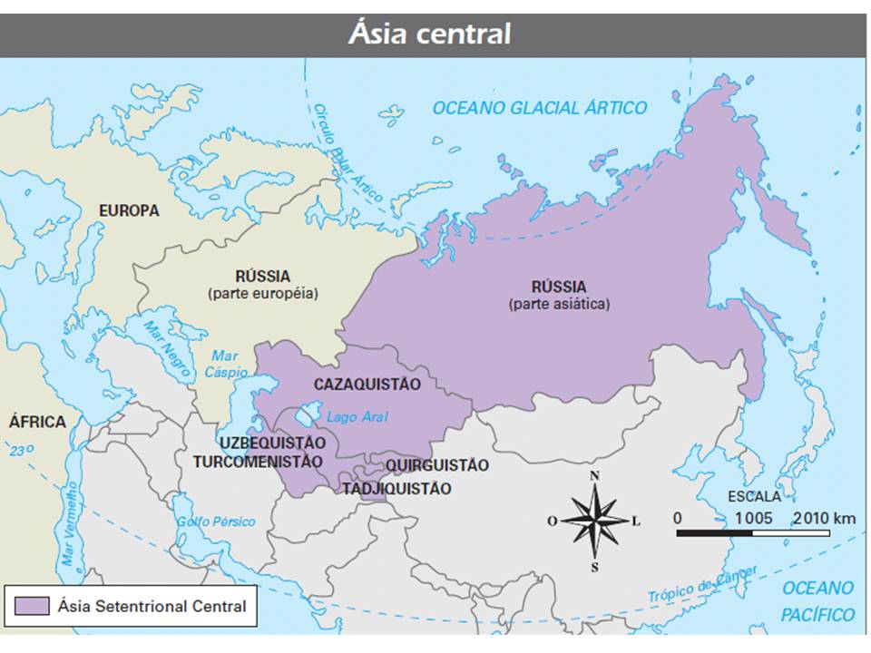 Mapa Politico De Asia