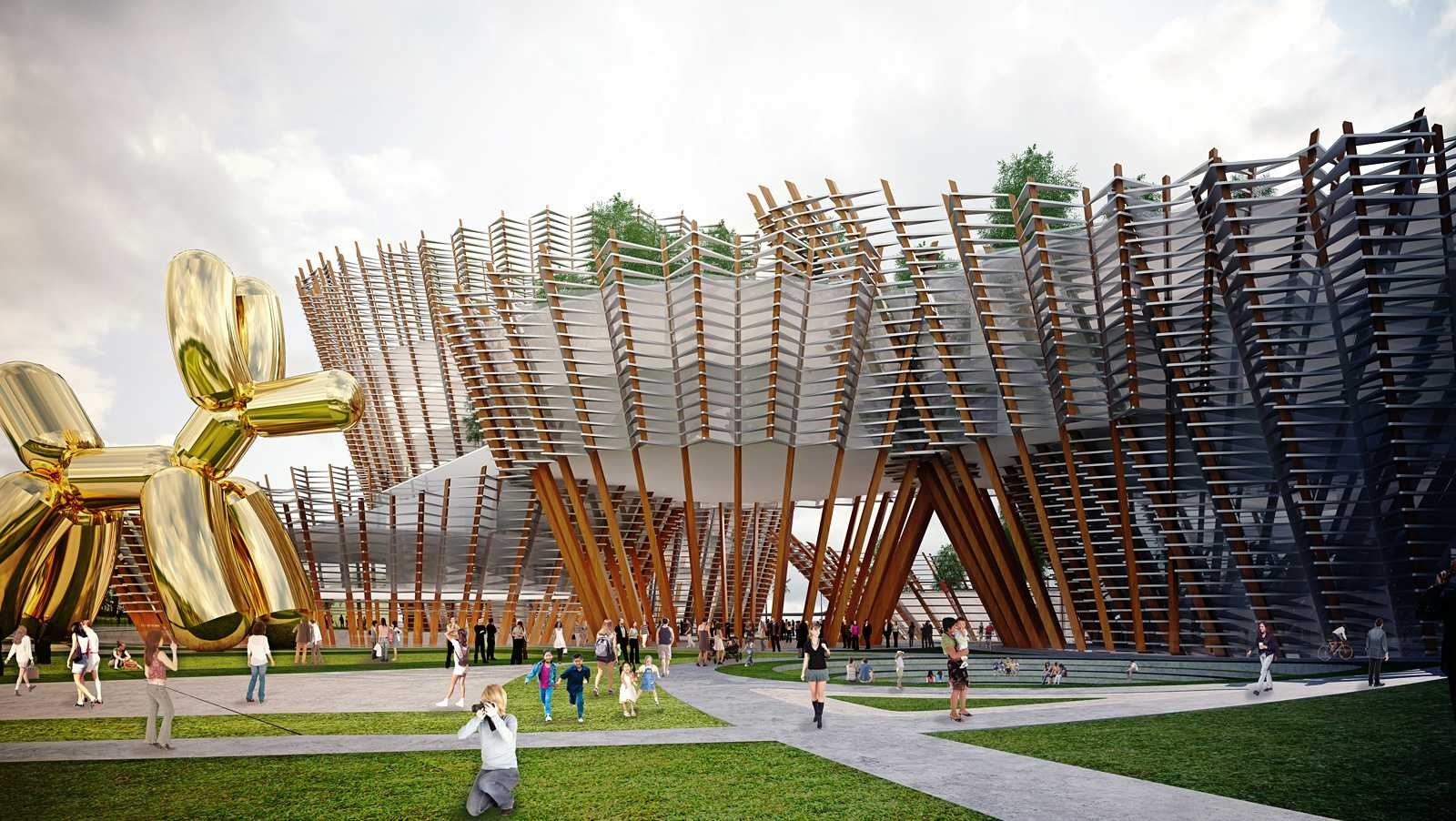 Taichung city cultural center competition by maxthreads for Architecture art design