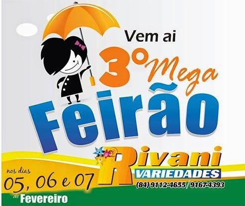3º MEGA FEIRÃO!!