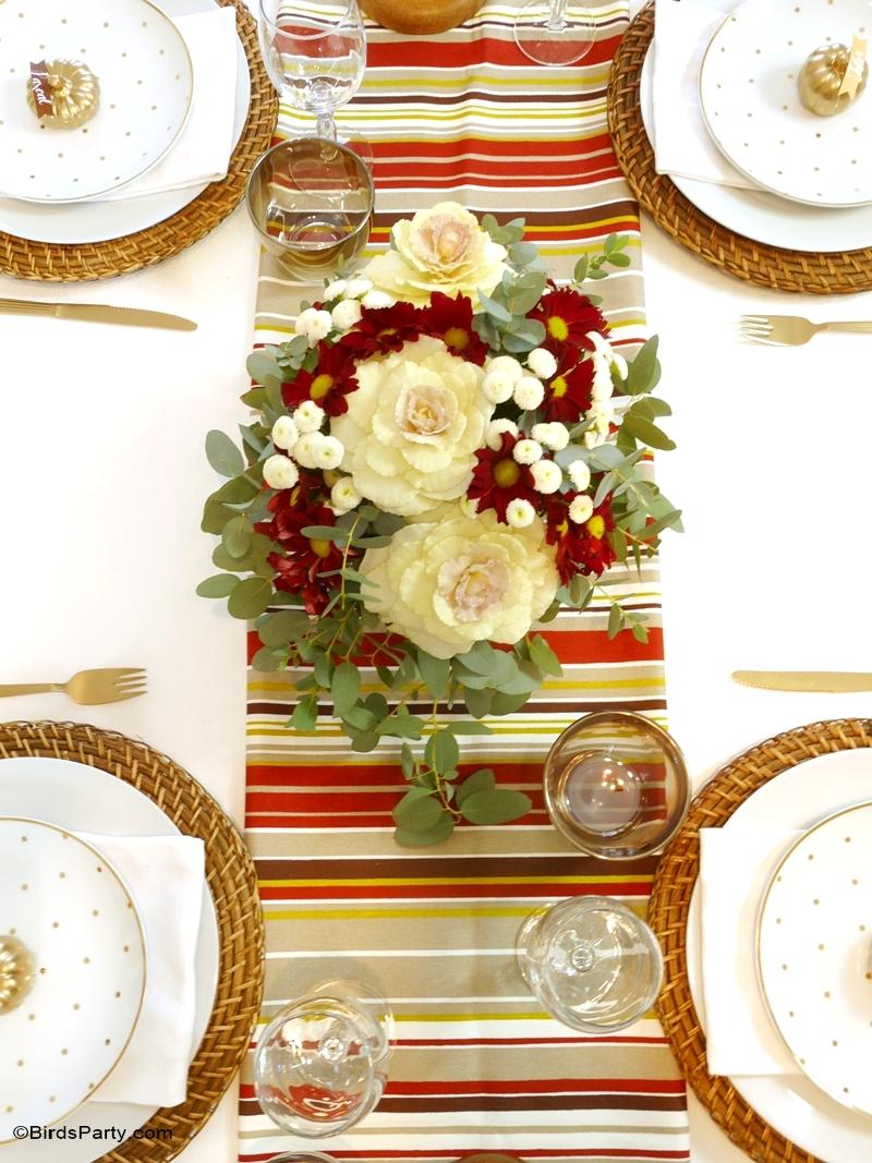 Décor DIY Pour une Table d'Automne