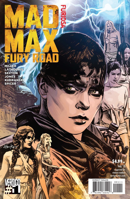 Cover Mad Max Fury Road Comic Part 2 Furiosa August 2015